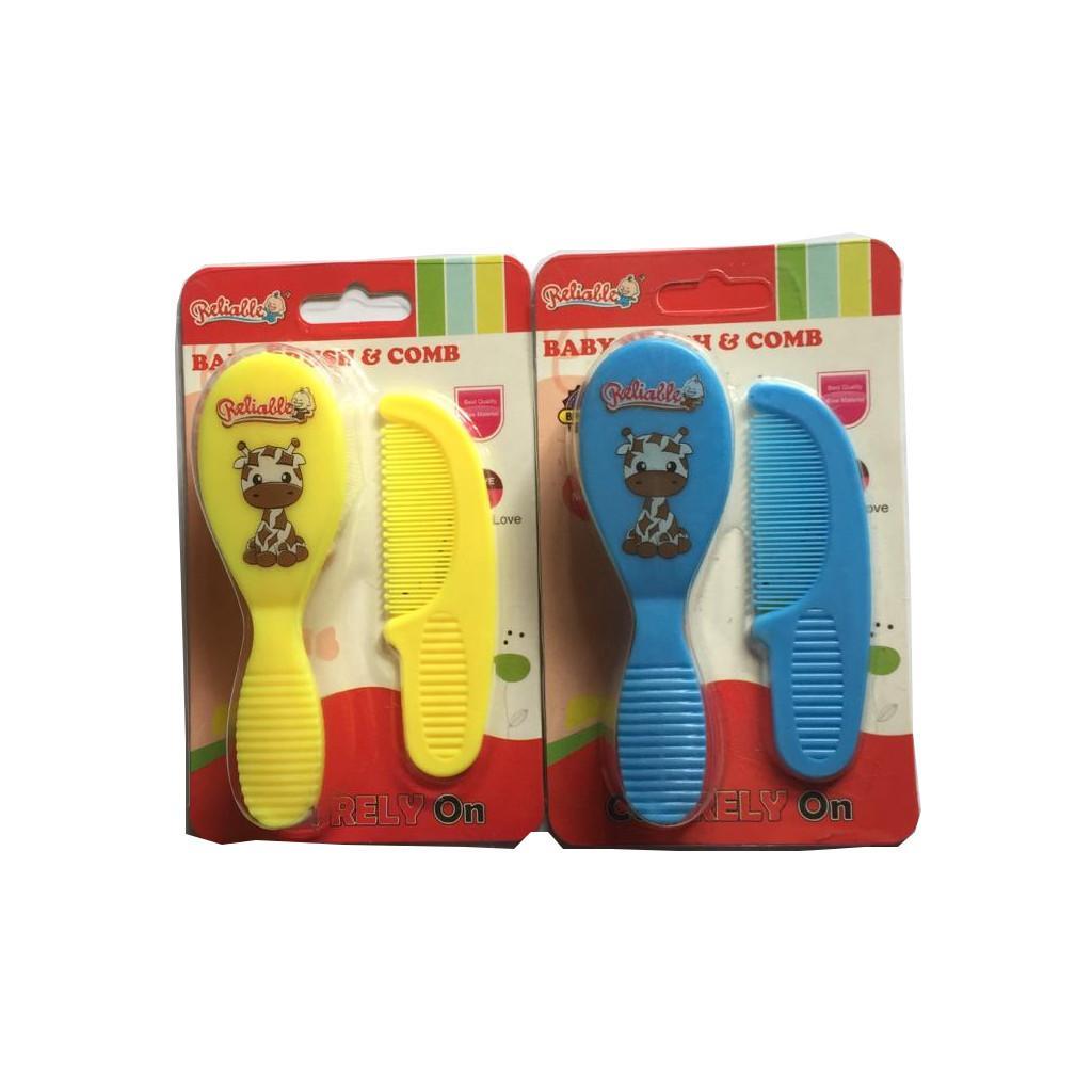 sisir bayi reliable / baby brush & comb / perlengkapan bayi / Junior Baby Shop1
