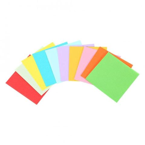 1 Pack 520 Pcs Square Kertas Lipat Colorful Double Sided Origami Crane Craft Lembar 7x7 Cm-Intl 3