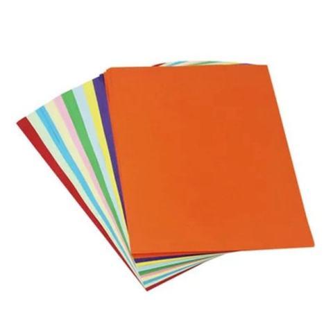 100 Lembar 10 Pencampuran Warna A4 Berwarna Kertas Origami-Intl 3