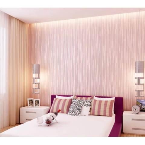 1000*53 Cm Moonlight Hutan 3D Wallpaper Seni Dinding Walpaper Moderen Sederhana Kertas Dinding-Intl 4