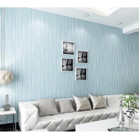 1000*53 Cm Moonlight Hutan 3D Wallpaper Seni Dinding Walpaper Moderen Sederhana Kertas Dinding-Intl 3