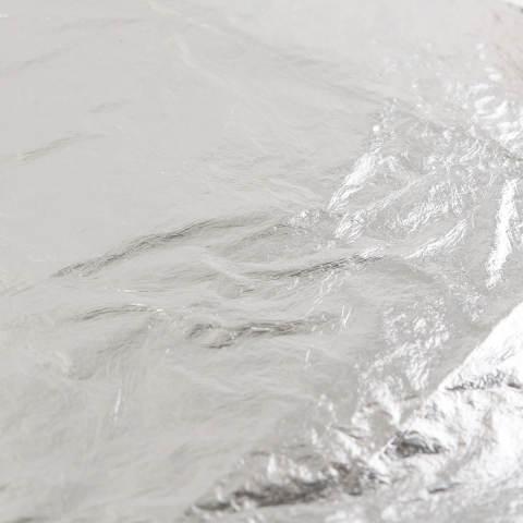100 Buah Lembar Perak Daun Tembaga Alumunium Kertas 14 Cm X 14 Cm For Penyepuhan Kerajinan Dekorasi 2