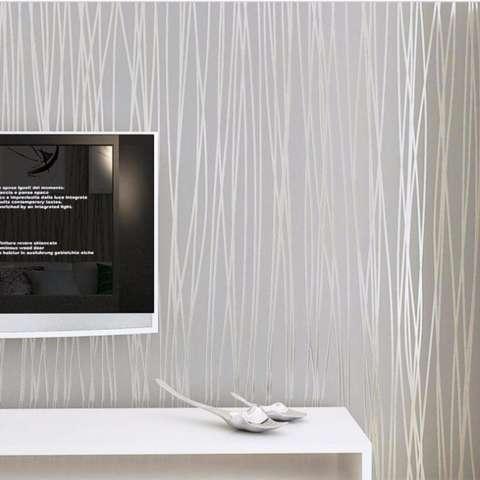 10 M 3D Wallpaper Solid Color DIY Kamar Tidur Ruang Tamu Dekorasi Rumah Modern Sederhana Dinding Kertas Sticker Ramah Lingkungan Mural- INTL 4
