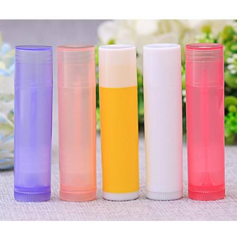 10 Pcs/set 5 Ml Lipstik Diy Termos Lipstik Tube Lip Balm Lipstik Wadah Contoh Kosmetik Volume Kontainer-Internasional 3