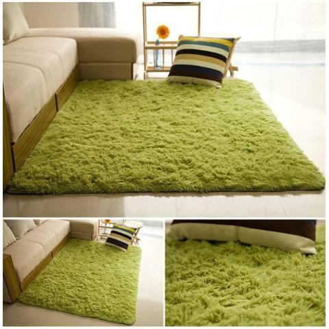 120X60 Cm Lembut Shaggy Karpet untuk Ruang Tamu Hangat Mewah Floor Rugs Fluffy Mats Kamar Anak