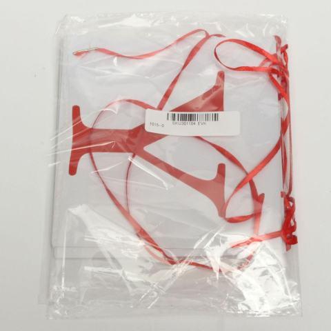 131621601685 BARU Vintage Kartu Kertas Natal Bunting Banner XMAS Pesta Hiasan Gantung-Internasional 1