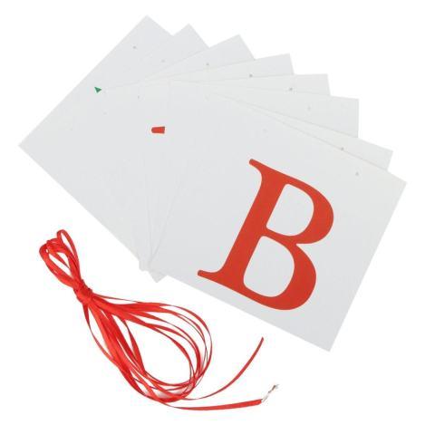 131621601685 BARU Vintage Kartu Kertas Natal Bunting Banner XMAS Pesta Hiasan Gantung-Internasional 3