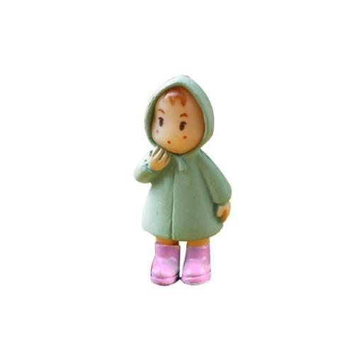 1 Pcs Lucu Mini Figurines Miniatur Perempuan Mei Resin Kerajinan Ornamen Peri Taman Gnomes Moss Terrariums Rumah Dekor-Internasional 2