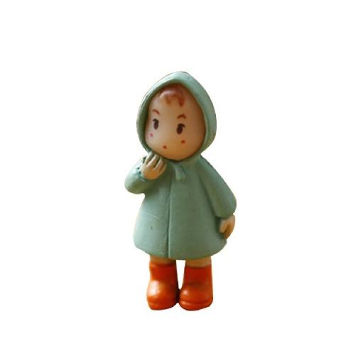 1 Pcs Lucu Mini Figurines Miniatur Perempuan Mei Resin Kerajinan Ornamen Peri Taman Gnomes Moss Terrariums Rumah Dekor-Internasional 3