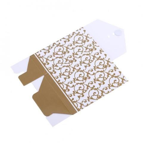 2 Warna 10 Pcs Elegan Pesta Pernikahan Favor Hadiah Fashion Permen Kotak Tas Kertas Jenis Pita Diskon Besar-besaran-Internasional 3