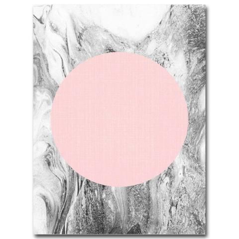 21x30 Cm Geometri Abstrak Minimalis Kanvas Cetak Lukisan Dekorasi Dinding Tidk-Internasional 1