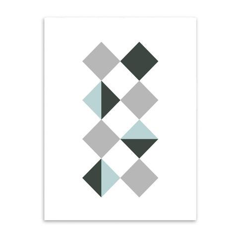 3 Pcs/set Bentuk Geometris Sederhana Seni Kanvas Cetak Lukisan Poster, Dinding Gambar untuk Dekorasi Rumah, Dekorasi Rumah YE104CMP-Intl 2