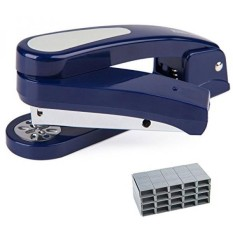 360 Degree Rotatable Staplers, 20 Sheet Capacity with 2000 Staples, Specialized For Booklet Stapling - intl