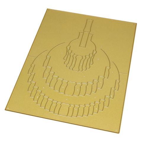3D Logam Cutting Dies Stensil Membuat Scrapbook Hiasan Timbul Album Kertas Kartu Ketrampilan B-Internasional 3