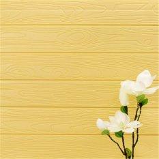 3D Pola Butiran Kayu Wallpaper Kamar Tidur Ruang Tamu Modern Dinding Latar Belakang TV Decor-Intl
