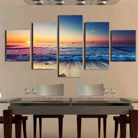 5 Panel Modern Gelombang Laut Cetak Tergantung dengan Tempat dan Masing-masing Toko Yang Menjualnya. Semoga Bermanfaat dan Terima Kasih Kategori Kanvas For Lukisan Lanskap Cuadros Ruang Tamu Tanpa Bingkai-Internasional 1