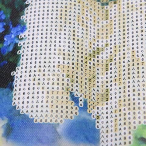 5D DIY Lukisan Berlian Contoh Cute Dog Cross Stitch Dekorasi Rumah 30*30 Cm-Intl 2