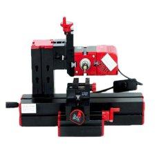 6 In 1 Multi Logam Mini Mesin Bubut Kayu Bermotor Jig-Saw Grinder Driller-Intl
