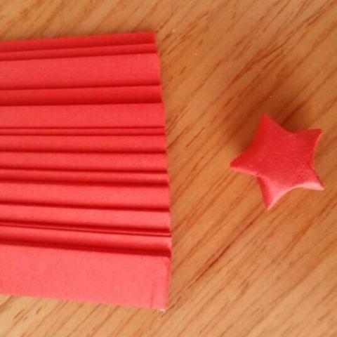 80 Pcs Origami Lucky Star Kertas Strip Folding Pita Kertas Warna 3