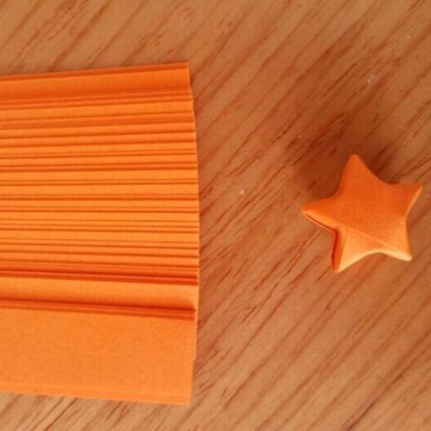 80 Pcs Origami Lucky Star Kertas Strip Folding Pita Kertas Warna 4