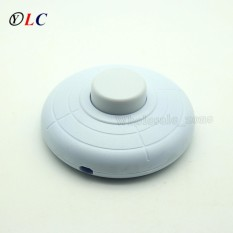 AC 250V 2A Bedside lamp Floor Table Lamp LED In Line 500W Button Foot Switch Dimmer Home Use - intl