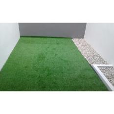 Ace Rumput Sintetis Dalam/Luar Ruangan Uk 1x1 Meter - Hijau