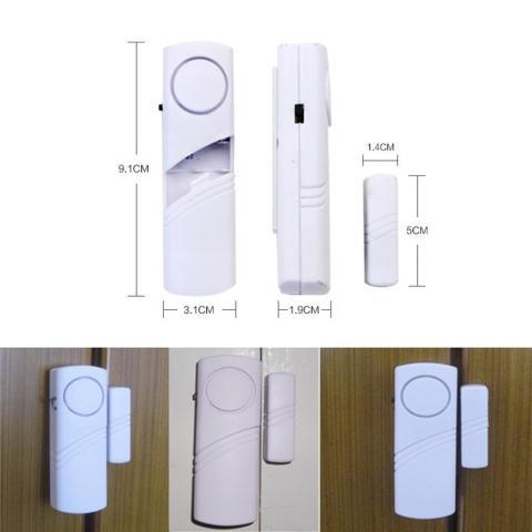 ... Alarm Rumah Canggih Anti Maling Alarm System Wireless Cocok Untuk Di Pintu Jendela Lemari Etc 1