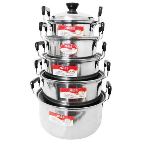 American Style High Pot Series - Panci set 5 pcs