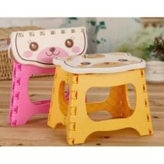 Cari Harga Kursi Plastik Wapolin Anabelle Lipat Mini Anak Serbaguna Foldable Chair Portable Kartun