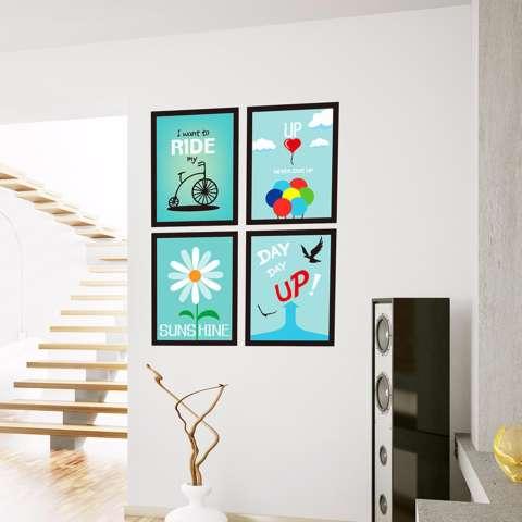Mimosifolia Latar Belakang Bingkai Dinding Ruang Tamu Dapur Wallpaper Sticker Stiker Dinding Kamar Tidur Anak-anak PVC Seni Mural Dekorasi Rumah Prasekolah Kelas Diri Perekat Dekoratif Wallpaper-Internasional 1