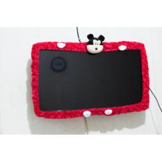 Bando / Cover / Sarung / Bandana / List TV Karakter Mickey Mouse LCD LED 21