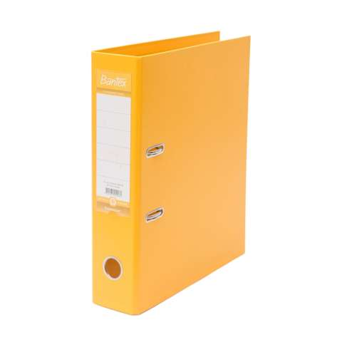 Bantex Lever Arch File Ordner Plastic A4 7cm Yellow #1450 06