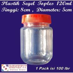 Baru - Plastik Segel Toples Selai / Sambal 120Ml - Fourtyshops
