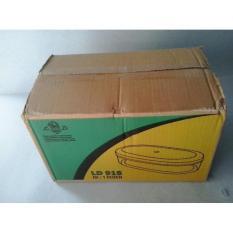 baru - toples plastik mika bening merk deliced 918 isi 250 gr-ovalkecil - fourtyshops