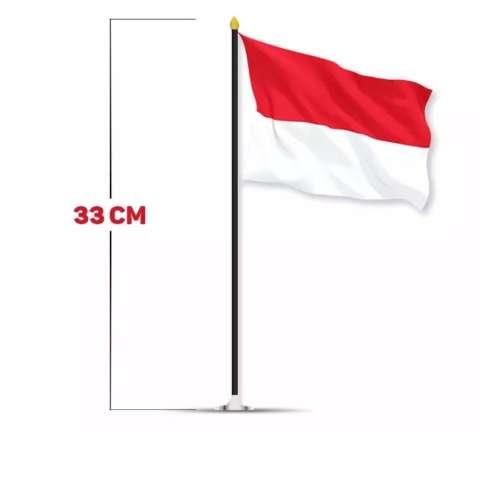 Bendera Merah Putih / Bendera 17 Agustus Sedotan 1