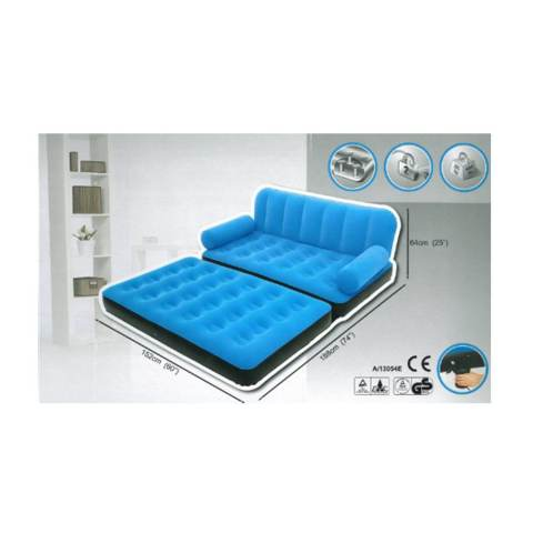 ... Single Sofa Bed Hijau Kasur Source · Bestway Sofa Bed 2 in 1 Double Sofa Multifungsi 67356 Biru