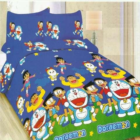 Bonita Sprei Queen Motif Doraemon Cute 160x200 cm