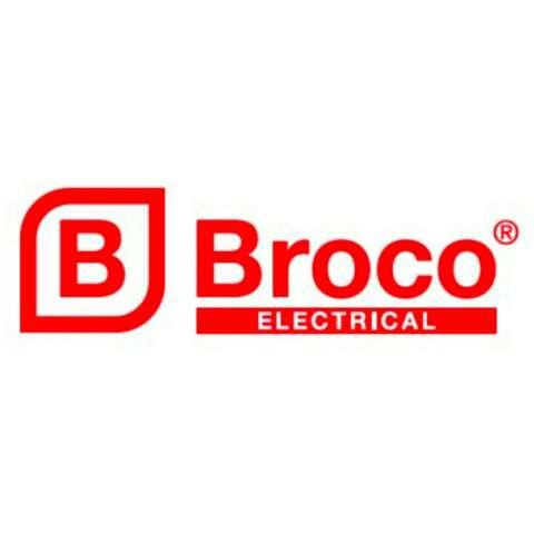 Broco Gracio LUX Fitting Lampu Plafon Besar White 4pcs