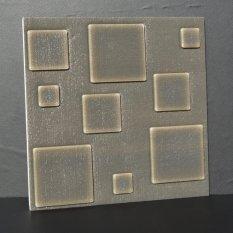 Catwalk 3D Grid Pola Wallpaper Kamar Tidur Ruang Tamu Modern Dinding Latar Belakang TV Decor-Intl