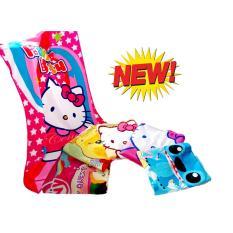 Cendra Towel Handuk Mandi Karakter Anak Perempuan uk 75 x 150 - Multicolor
