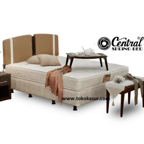 Central Spring Bed Deluxe Matras Merah 120x200 – Free Ongkir Jakarta. Source · Central Deluxe