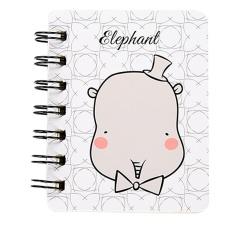 Children Cute Animal Paper Blank Page Notebook Buku Catatan Jurnal Diary Notepad D-Intl
