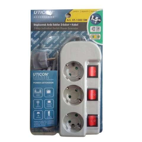UTICON Stop Kontak Colokan 5 Lubang ST 1582 Stop Kontak Source · Colokan Listrik Stop Kontak
