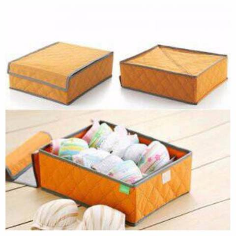DapurBunda BRR001 Organizer Tempat Simpan Untuk BH/BEHA/ BRA - Underwear Storage Box BH