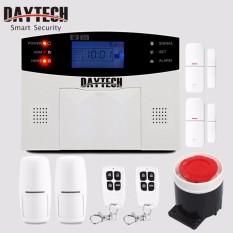DAYTECH Home SIM/GSM Alarm Security System Burglar Alarm Calling and Message with Entry Sensor Alarm - intl