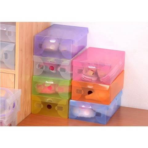 ... Ring Dan Sudut Plastik Murah. Source · Decoku Kotak Sepatu Shoes Box Transparan Warna Warni Set isi 5 buah