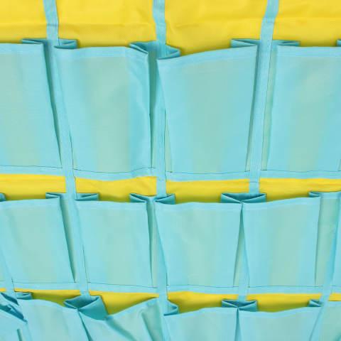 Rincian tentang 30 saku pintu rumah hiasan dinding kelas penyelenggara telepon bagasi tas - Internasional 1