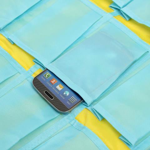Rincian tentang 30 saku pintu rumah hiasan dinding kelas penyelenggara telepon bagasi tas - Internasional 2