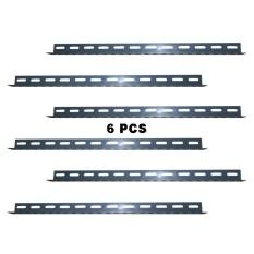 EELIC BER-60CM 6 PCS 60 CM Besi Siku Lubang Rak Serbaguna