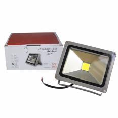 EELIC FLL-KABPEM 20 Watt 6400K COB Lampu Sorot Flood Light Cahaya Putih
